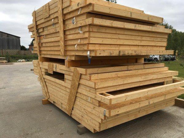 White Haus timber frames