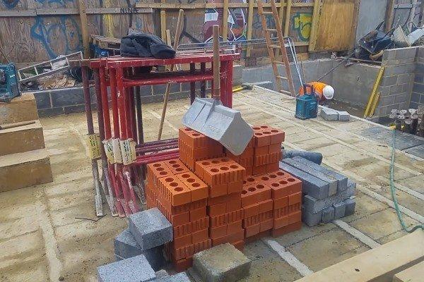 Blenheim Grove engineering bricks