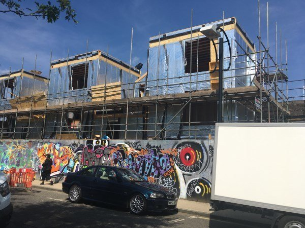 Blenheim Grove exterior May 2019