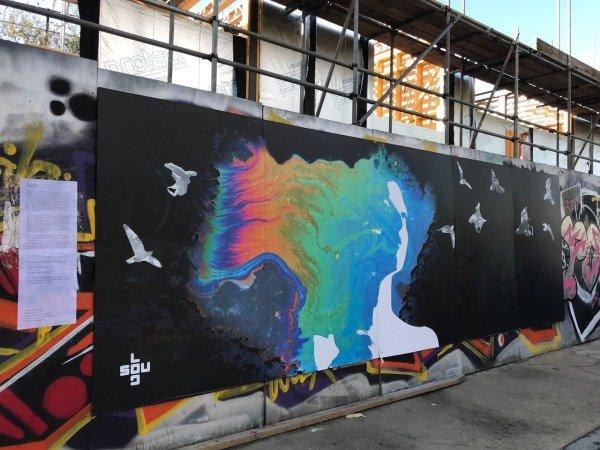 Blenheim Grove Soul D graffiti art