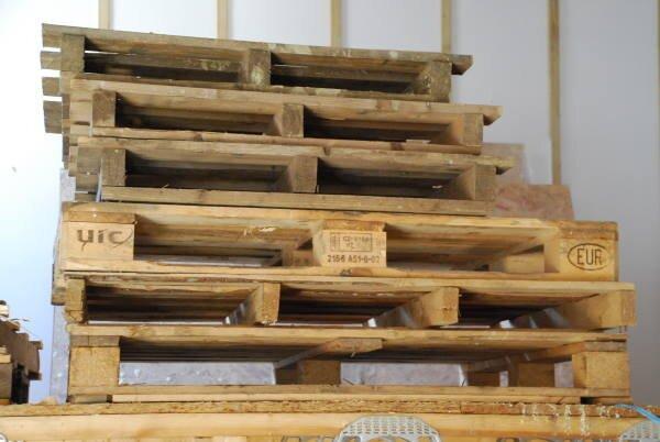 Blenheim Grove pallets