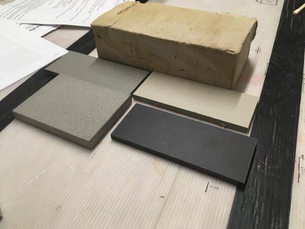 Blenheim Grove tile samples