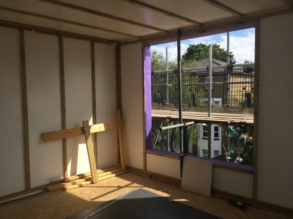 Blenheim Grove window