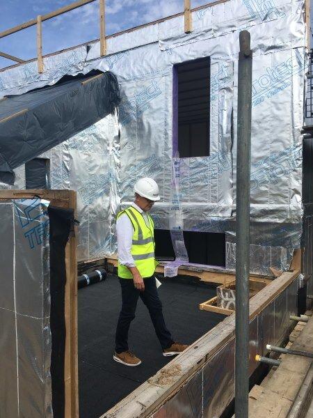 Blenheim Grove terrace inspection