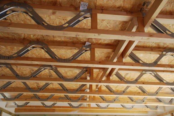 Blenheim Grove shell ceiling Sept 2019
