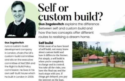 Selfbuild & Design article