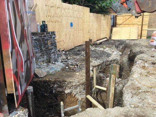 Blenheim Grove draining