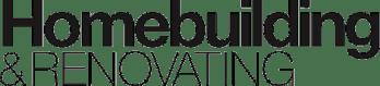 Homebuilding and renovating logo