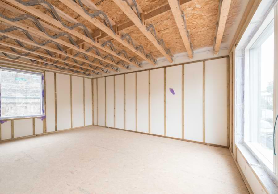 Blenheim Grove shell bedroom raw