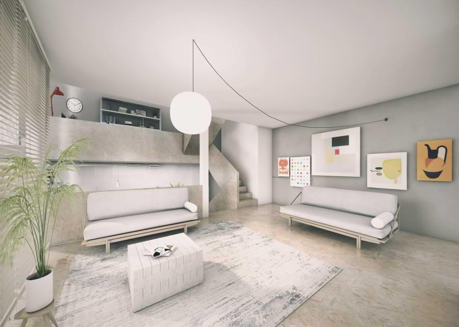 Blenheim Grove living room basic option
