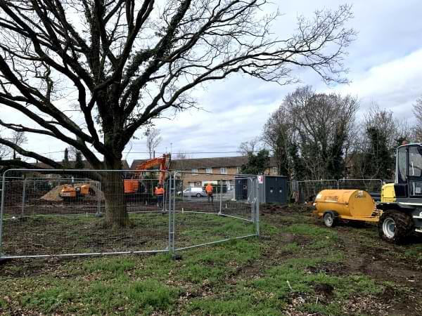 Pound Lane infrastructure 2 Mar 2021
