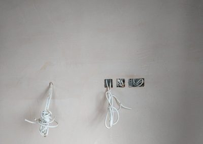 Blenheim Grove warm shell wall wiring