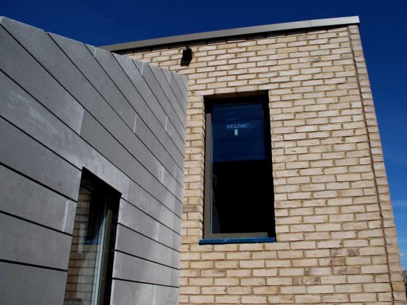 Blenheim Grove bricks & cladding